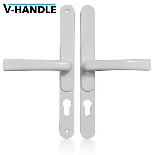 Versa Hardware V-Handle Universal Adjustable Upvc Door Handle - White by Versa Hardware via Youpvc Hardware by Versa Hardware via Youpvc Hardware