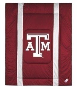 Sidelines Comforter Texas (NCAA Texas A&M Aggies Sidelines Comforter, King, Cordovan)