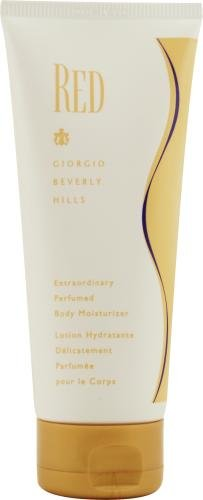 Red by Giorgio Beverly Hills for Women, Body Lotion, 6.7-Ounce (Lotion Body Giorgio)