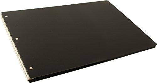 11x17 Binder Screw Post Acrylic Aluminum Hinge (Black)