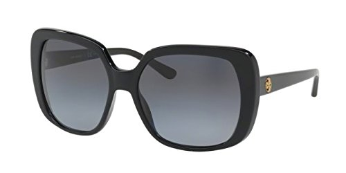 Tory Burch Women's 0TY7112 Black/Grey Gradient Polarized - Tory Polarized Burch
