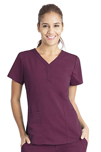 healing hands Purple Label Women's Jane 2167 V-Neck 2 Pocket Top ()