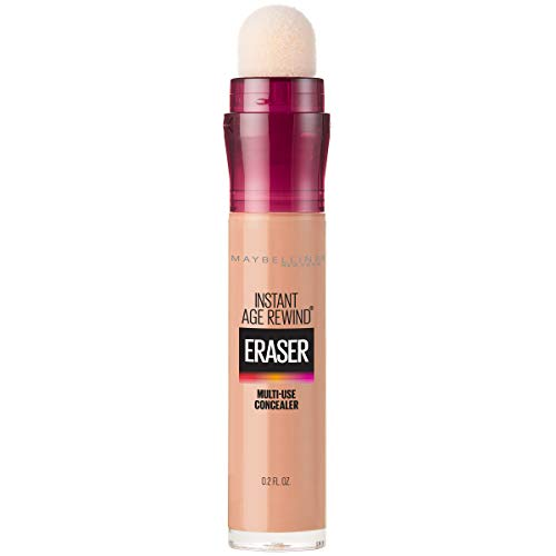 Maybelline New York Instant Age Rewind Eraser Dark Circles Treatment Concealer Makeup, Honey, 0.2 fl. oz. (Revlon Eye Concealer)