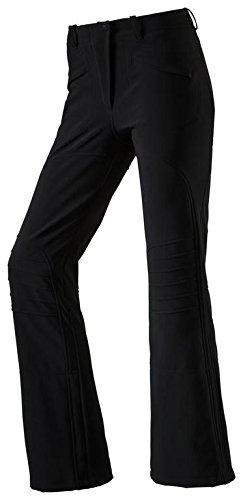 etirel Damen Softshell Jethose Skihose Skiba Jet Premium schwarz, Größe:40
