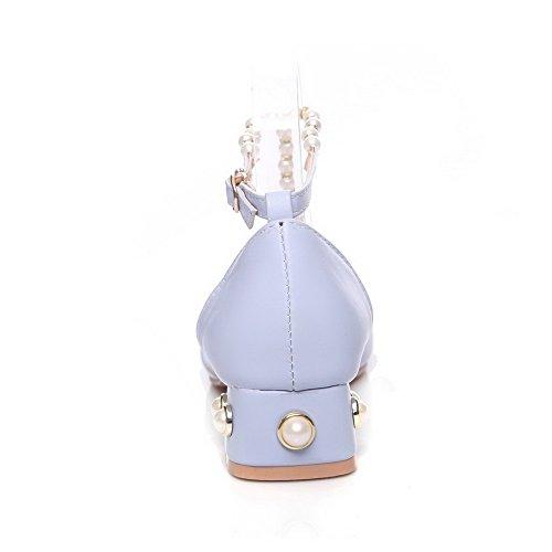 Sandales Bleu 36 EYR00262 EU Aimint Femme Bleu Compensées 5 zxqv5C