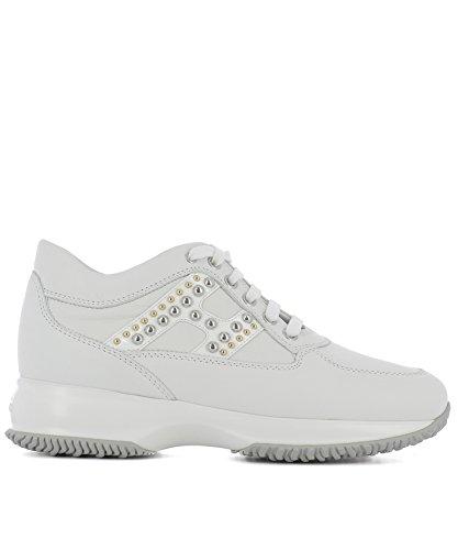 Hogan Sneakers Donna HXW00N0X410DYQB001 Pelle Bianco