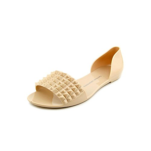 Chinese Laundry Women's Rocking Jelly Flat,Nude,9 M US