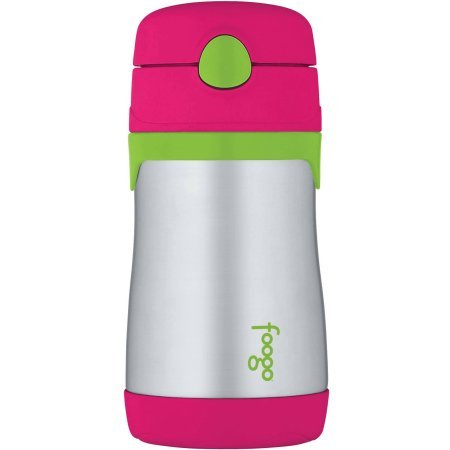 Thermos Foogo Vacuum Insulated Straw Bottle, BPA-Free , Watermelon (Foogo Bottle compare prices)