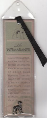 Weimaraner Bookmark and Breed Pin