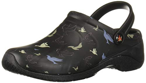 Anywear Clogs - Anywear Women's Zone Health Care Professional Shoe, Peace, 9 Medium US