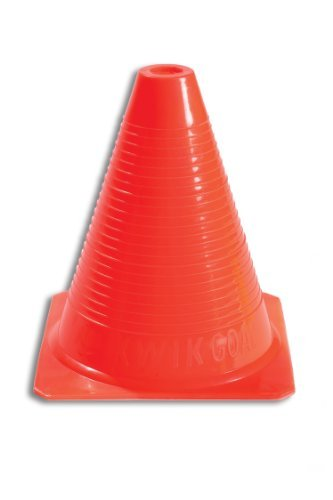 Kwik Goal Orange Practice Cone, 12 cones by Kwik Goal