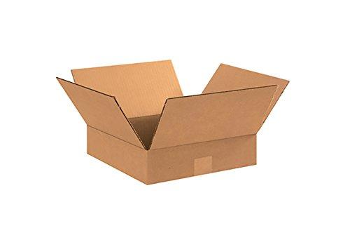 RetailSource - Cajas corrugadas, color café, Marrón, paquete de 5