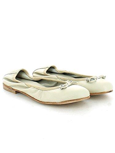 36 Gala off Nappa in Ballerina con BLANC White LE qR8gOO
