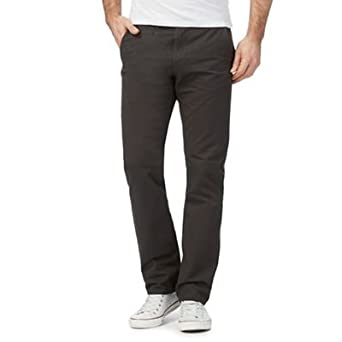 Red Herring Men Dark Grey Slim Chinos Red Herring Amazon Co Uk