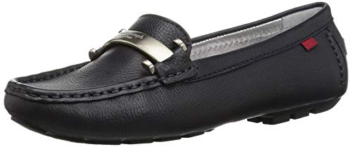 Loafer Leather Joseph Village Driving New Navy Women's Style York Grainy West Marc xzqU7IdU