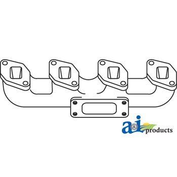 - A&I Products. A-3136066R12. Manifold; Vertical Exhaust. CASE-IH