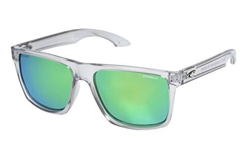 O'Neill Harlyn Polarized Square Sunglasses, Matte Gray Crystal, 56 ()