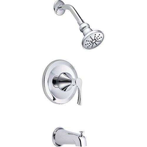 Danze D502022T - Antioch 1H Tub & Shower Trim Kit w/ Diverter on Spout 2.0gpm (Antioch Tub Shower)