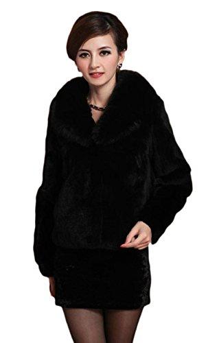 Vlunt - Abrigo - para mujer negro