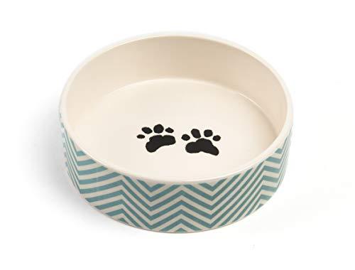 - Park Life Designs Large Pet Bowl, Talto Pattern, 8-1/2