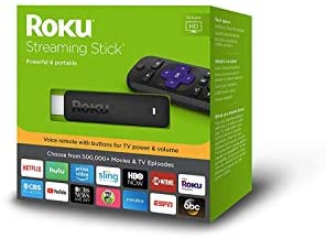 Roku 3800RW Streaming Stick GEN6 with Voice Remote - Black