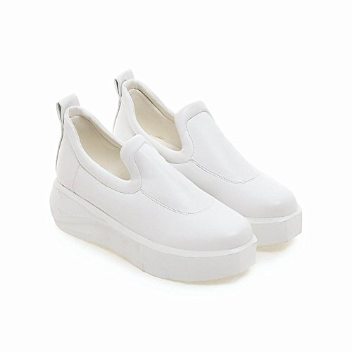 Platform Fashion White Loafers Womens on Shoes Womens Latasa Slip Latasa xqtw6YSZ