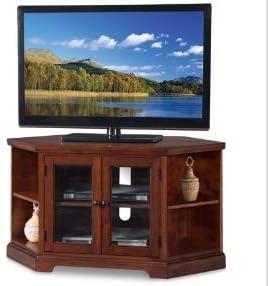 Mueble esquinero para TV, Color marrón y Cerezo: Amazon.es: Juguetes y juegos