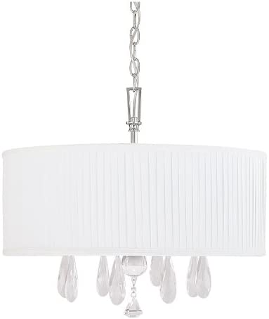 Capital Lighting 4488PN-574-CR Alisa 4-Light Chandelier