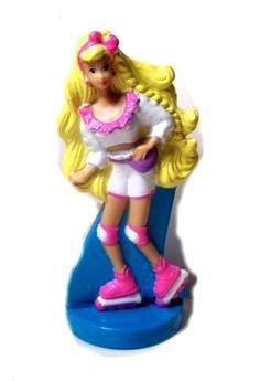 McDonald's Happy Meal Starring Mattel Rollerblade Barbie Figure - 1992 Series