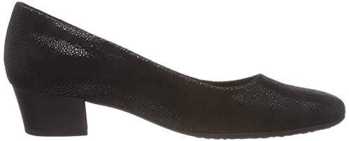 Femme Gabor Escarpins 27 Shoes Fashion Schwarz Comfort Noir qqI1Zw4