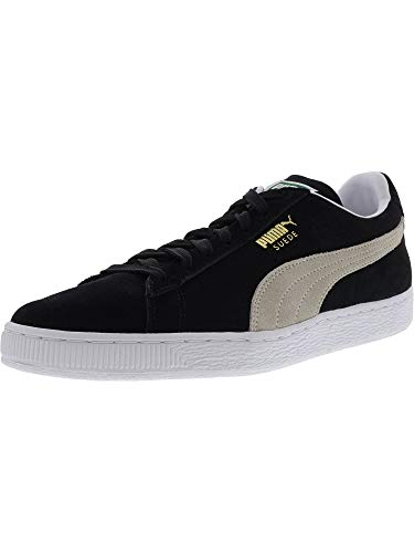 PUMA Suede Classic Sneaker,Black/White,11 M US Men's