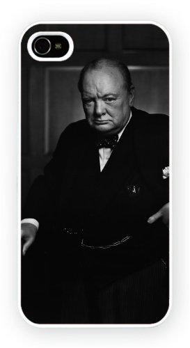 Winston Churchill UK Prime Minister, iPhone 5C, Etui de téléphone mobile - encre brillant impression