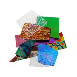 Dichoric Glass - 1/4 Lb Cbs Dichroic Combo Scrap Pack - 90 Coe