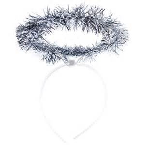 Silver Tinsel Halos Lot of 12 (Tinsel Halo)