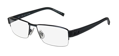 Oga 7923o Mens Designer Half-rim Spring Hinges Eyeglasses/Glasses (55-17-135, - International Europa Glasses