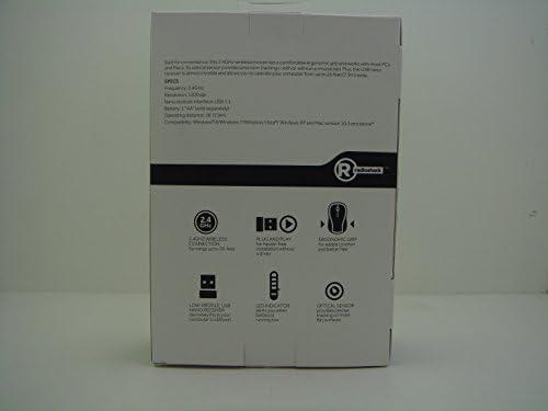 Radioshack – Ratón inalámbrico (Blanco): Amazon.es: Informática
