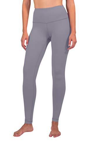 90 Degree By Reflex - High Waist Power Flex Legging – Tummy Control - Frosted Lilac - Small