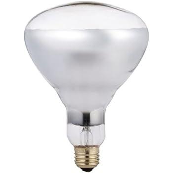 Philips Br40 Heat Lamp Light Bulb 250 Watt Infrared E26 Medium Screw Base Incandescent
