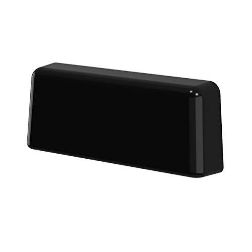 B de H Agua/ /Tapas para ranura est/ándar negro RAL 9005/para ranura fr/äsungen de 20/ /34/x 5/mm