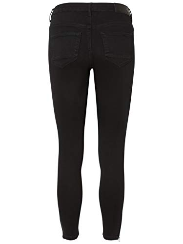 Black Zip Mujer Nmkimmy Noisy May Para Vaqueros Negro Jeans Skinny Nw Noos Ankle qPIgTgYw