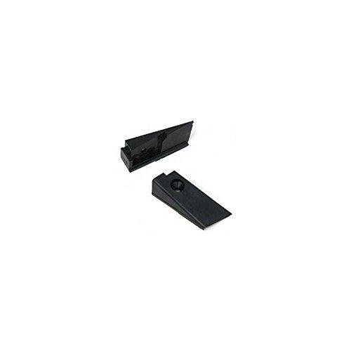 - Eckler's Premier Quality Products 25-102895 Corvette Convertible Lock Pillar Wedges, 1969Late-