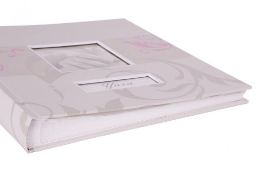 /Foto Album/ /con scatola/ Henzo Baby Album Yara Rosa/ /Album per la nascita o battesimo