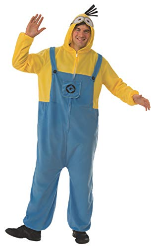 Rubies Costume Co. Mens Despicable Me 3 Minion Adult Onesie