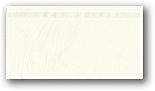 1000 Lieferscheintaschen DIN lang transparent