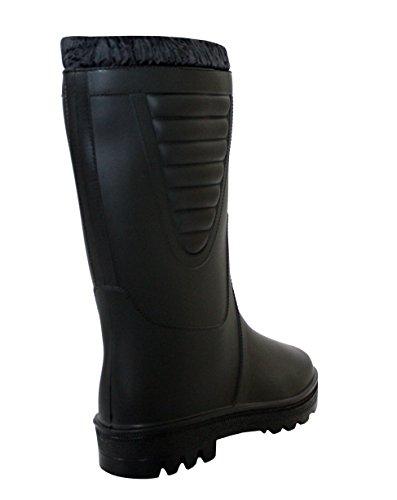 Gomma 40 Stivali Ragazzi Lavoro di da StormWells Uomo Nero EU Black EOxzqzd