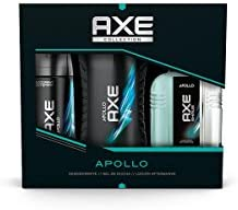 AXE Estuche Apollo Desodorante Spray 150 ml + Gel 250 ml + After Shave 100 ml - 1 Pack: Amazon.es: Belleza