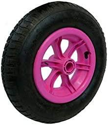 LY Tools - Rueda neumática (40,6 cm), Color Rosa: Amazon.es: Hogar