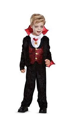 Toddler Boys VAMPIRE Costume (2T (3T-4T) ()