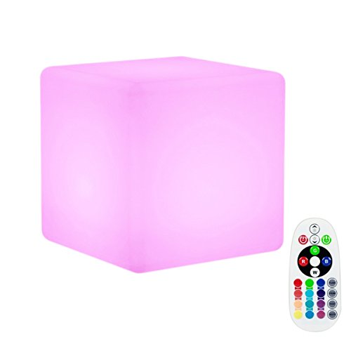 LED Cube Floating Light,WONFAST Waterproof Rechargeable G...