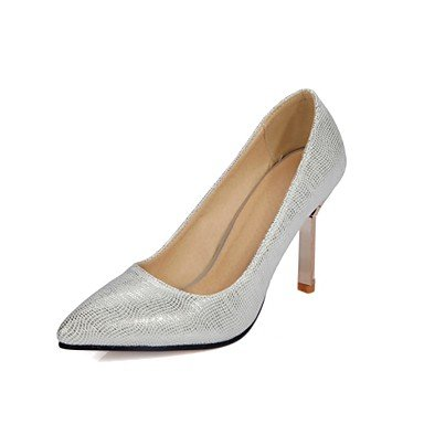 Zormey Women'S Shoes Stiletto Heel Heels/Pointed Toe Heels Dress Black/Pink/Silver US8.5 / EU39 / UK6.5 / CN40